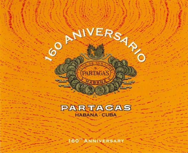 Partagas Humidor 160 Aniversario -  flyer front