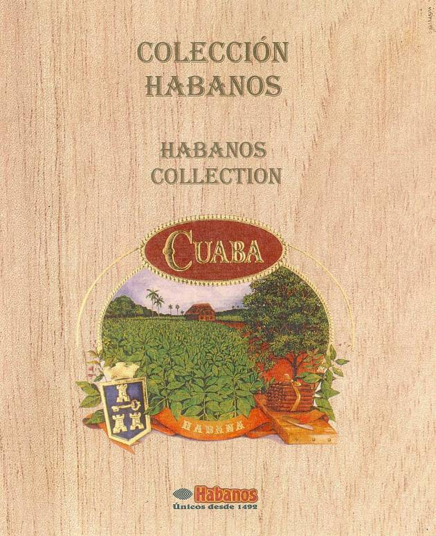 Booklet Cuaba 2001