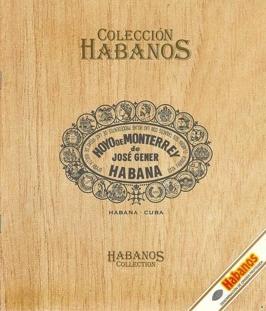 Colección Habanos 2003 - Hoyo de Monterrey Extravaganza - Booklet page 1
