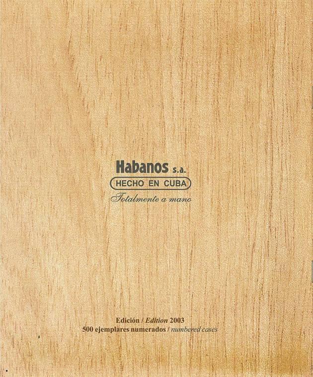 Colección Habanos 2003 - Hoyo de Monterrey Extravaganza - Booklet page 8