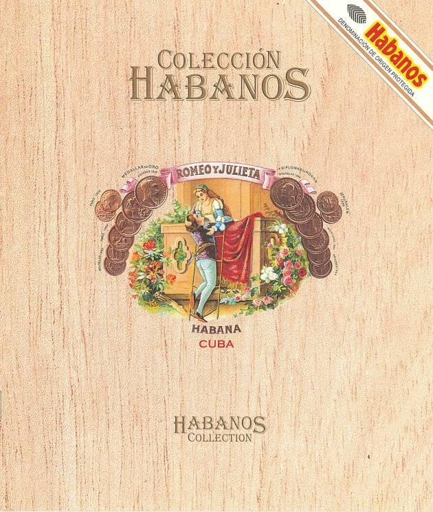 Colección Habanos 2004 Romeo y Julieta - Booklet Page 01