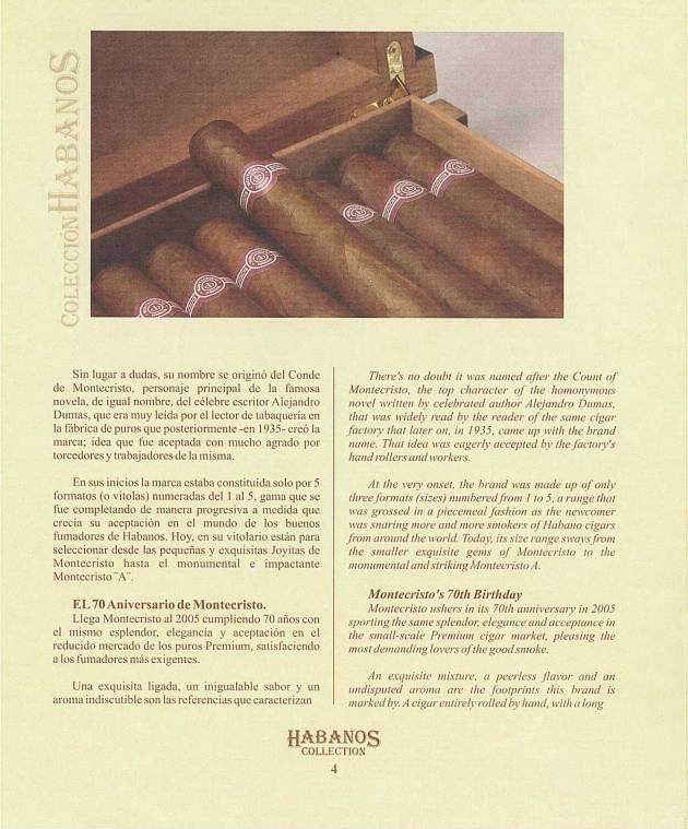Colección Habanos – 2005 – Montecristo - booklet page 05