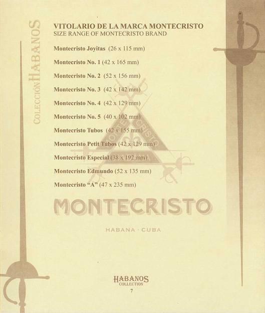 Colección Habanos – 2005 – Montecristo - booklet page 07