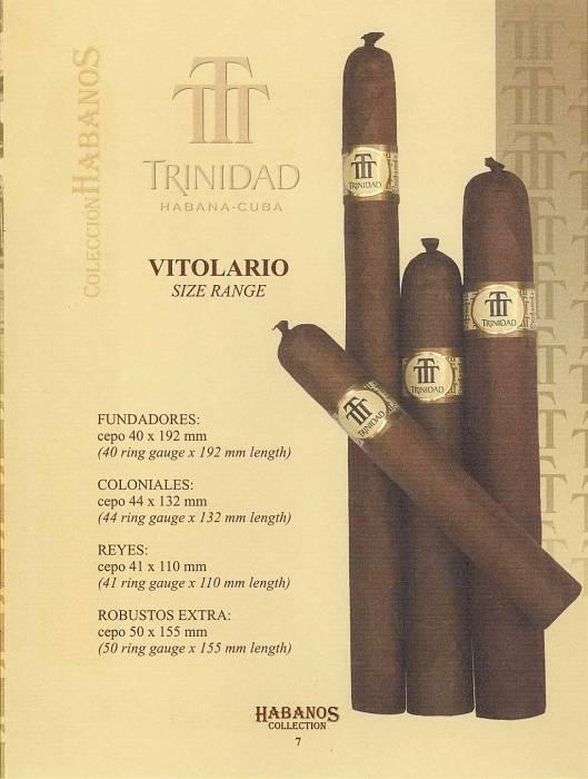 Colección Habanos – 2006 – Trinidad - booklet page 7