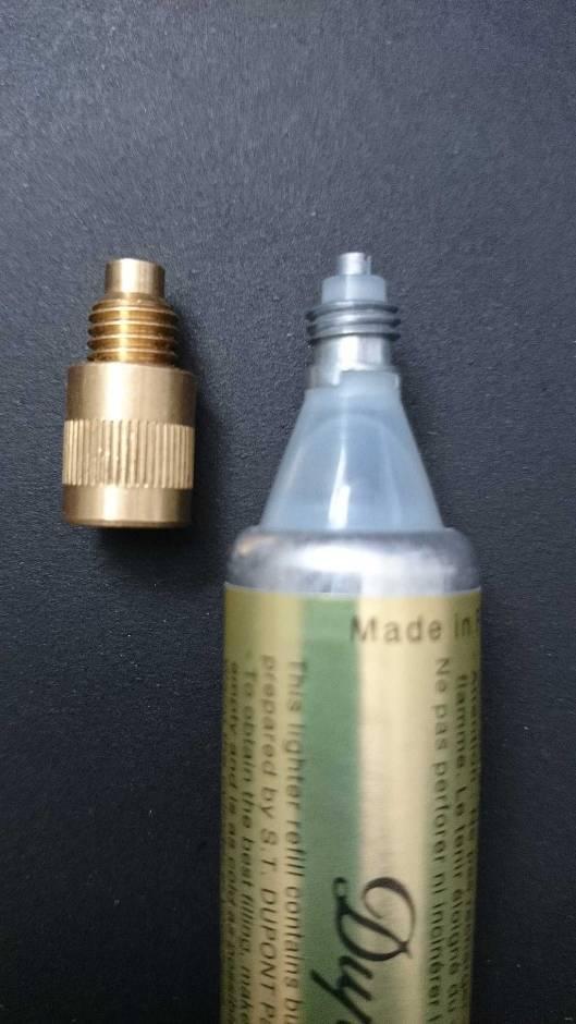 S.T. Dupont Dupontgaz & Adaptor Ligne 2