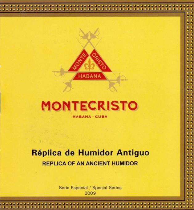 Montecristo - Réplica de Humidor Antiguo 2009 - booklet page 01