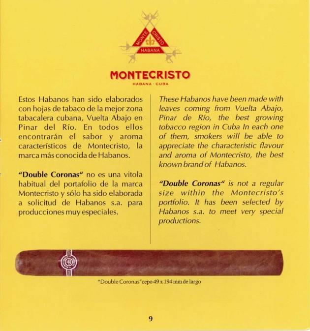 Montecristo - Réplica de Humidor Antiguo 2009 - booklet page 09