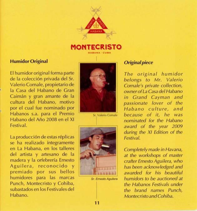Montecristo - Réplica de Humidor Antiguo 2009 - booklet page 11