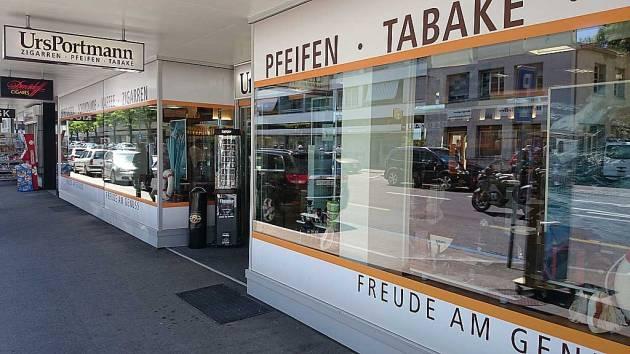 Shop - Urs Portmann Tabakwaren Kreuzlingen - outside