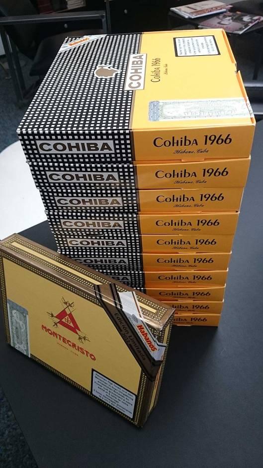 Cohiba 1966, Edición Limitada 2011, Montecristo 520 Edición Limitada 2012