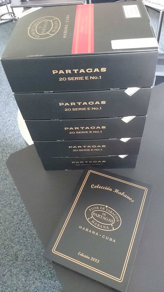 Partagás Serie E No.1 - Colección Habanos