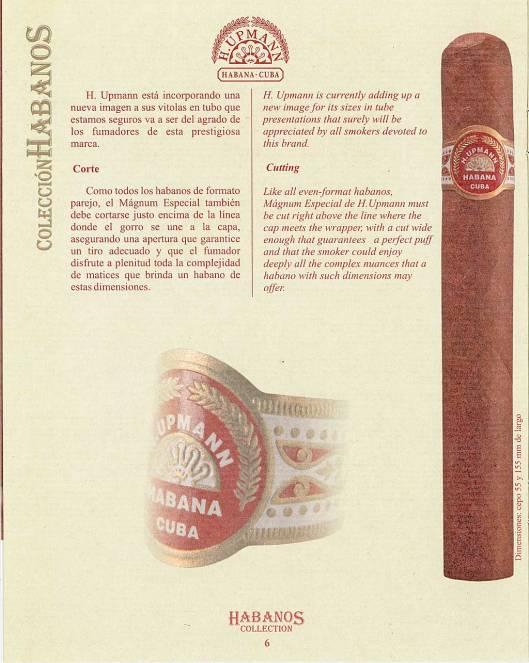 Colección Habanos – 2007 – H. Upmann - booklet page 6