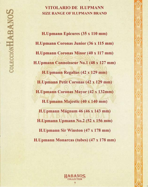 Colección Habanos – 2007 – H. Upmann - booklet page 7
