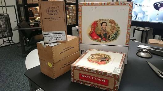 Bolivar Curchills Tubo, Gran Belicosos, Partagas Série du Connaisseur No. 2
