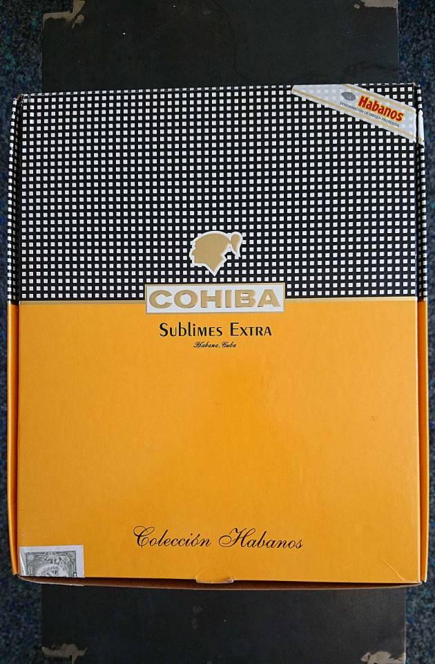 Colección Habanos – 2008 – Cohiba - Sublimes Extra