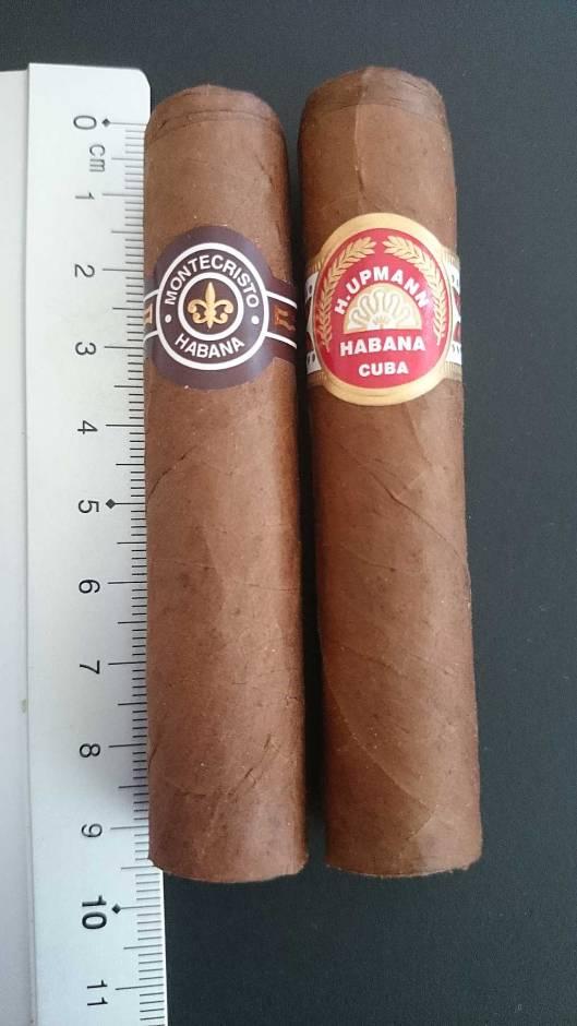 Montecristo - Media Corona vs. H.Upmann - Half Corona