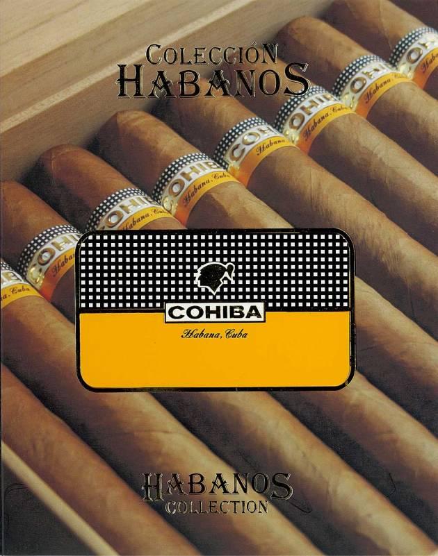 Colección Habanos – 2008 – Cohiba - booklet page 1