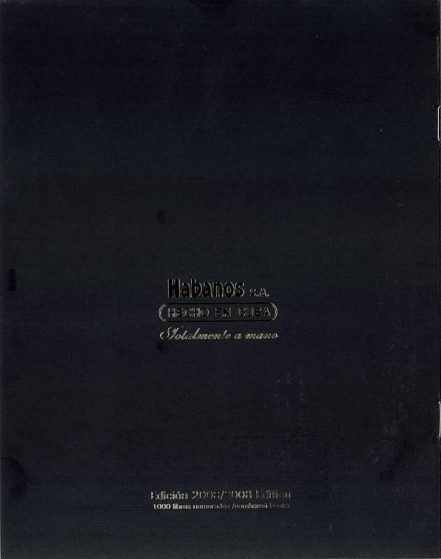 Colección Habanos – 2008 – Cohiba - booklet page 8