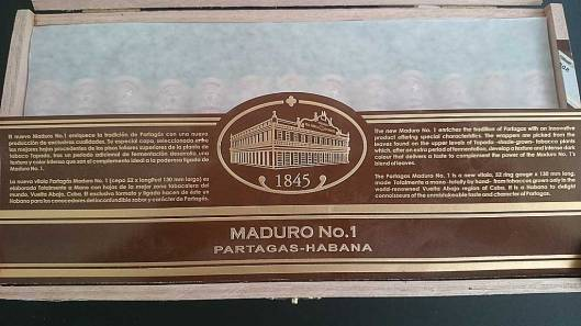 Partagas Maduro No.1