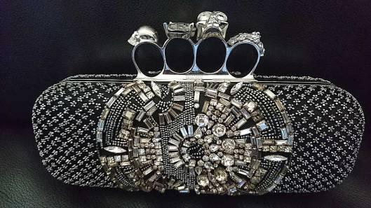 Brass Knuckle Clutch from Alexander McQueen