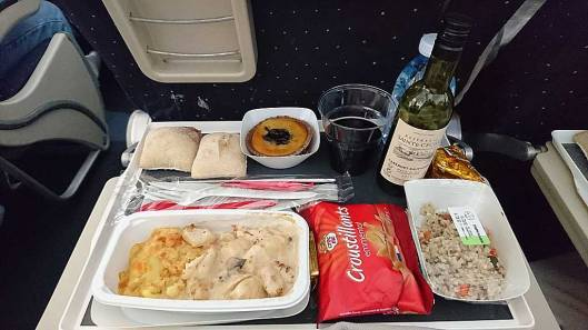 Food in the plane