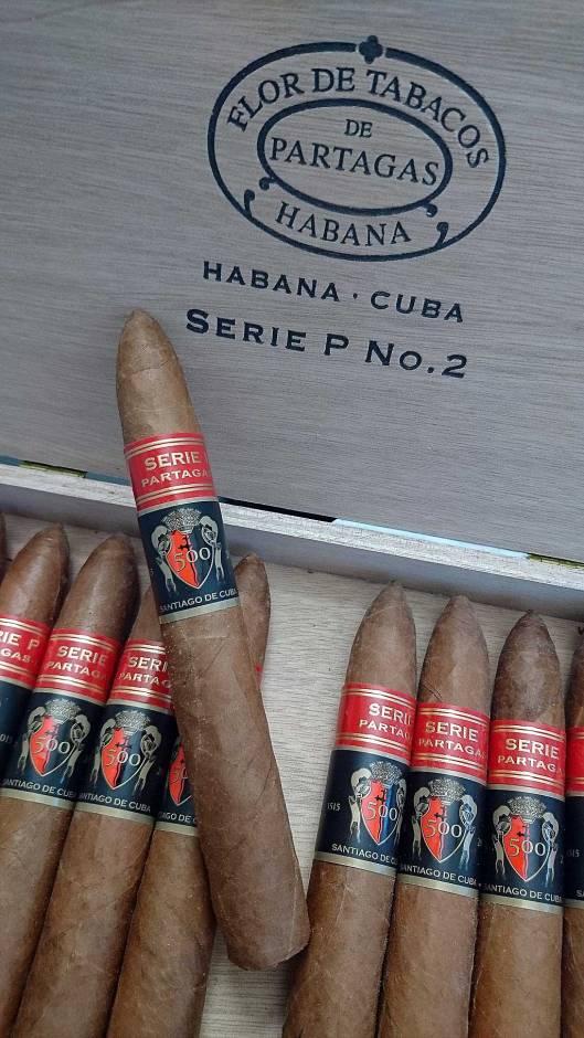 Partagas P2 - 500 Aniversario of Santiago de Cuba
