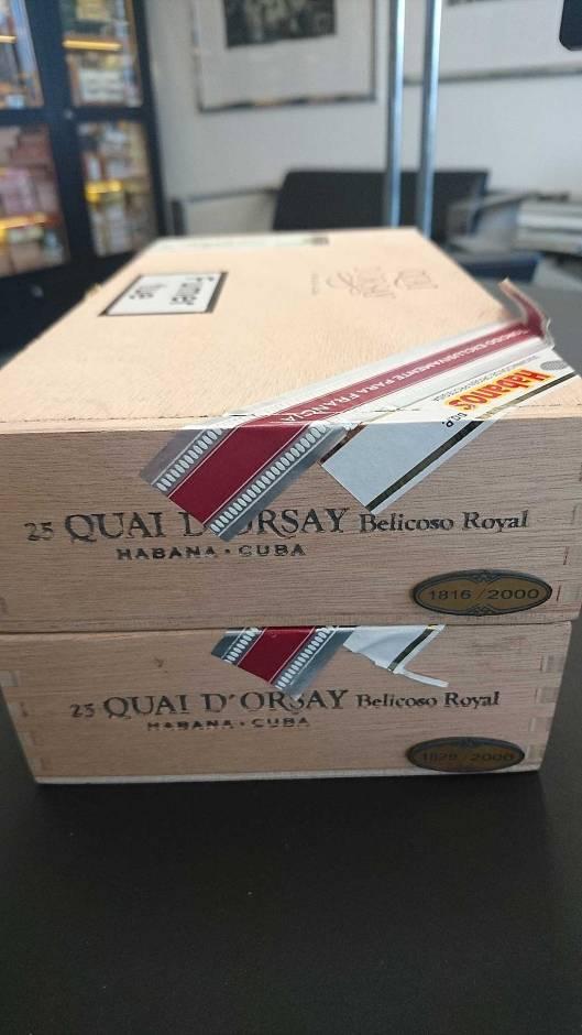 Quay d'Orsay Belicoso Royal - Edición Regional France